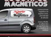 LOGOTIPOS MAGNETICOS PARA CAMIONETAS