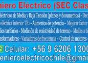 Ingeniero Eléctrico (SEC Clase A)