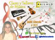 Clases de musica. teclado, guitarra, violin, flauta dulce