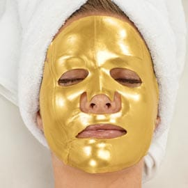 Mascarilla facial golden mask 24k original