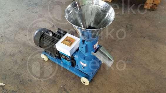 Meelko máquina de hacer pellets de maderas, biomasas mkfd120b