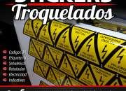 ETIQUETAS ADHESIVAS TROQUELADAS