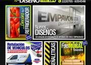 GRAFICA PUBLICITARIA, SEÑALETICAS, LOGOTIPOS, EMPAVONADO