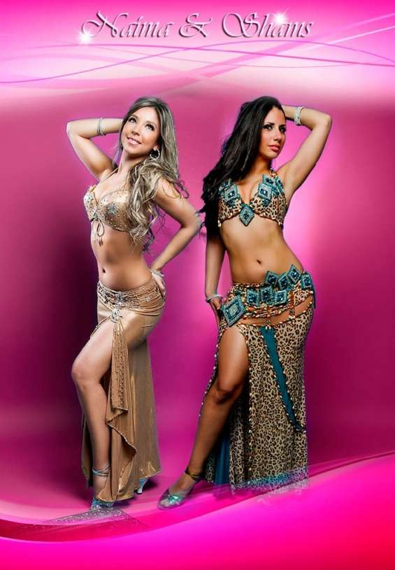 Bailarinas árabes, odaliscas para fiestas
