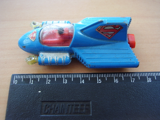 Superman corgi supermobile dc comics 1979 vintage diecast