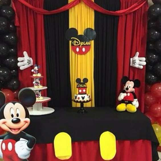 Cumpleaños tematicos full decoración promo