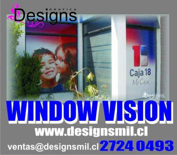 Revestimientos ventanas publicidad