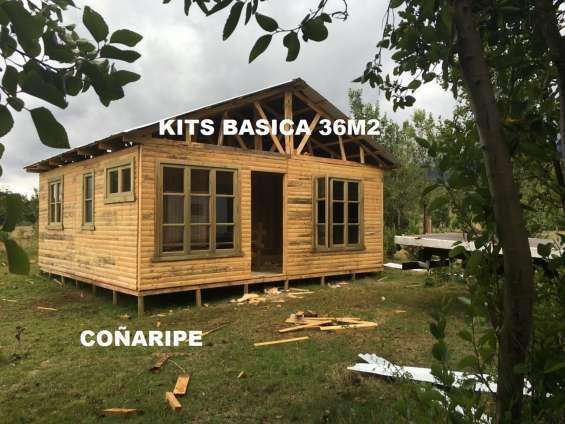 Oferta casas 36m2 2 dosmitorios prefabricadas con flete y regalos