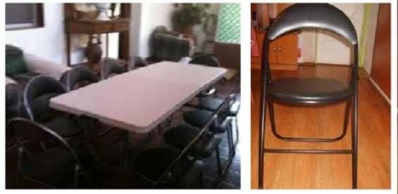 Arriendo de mesas y sillas 67899178
