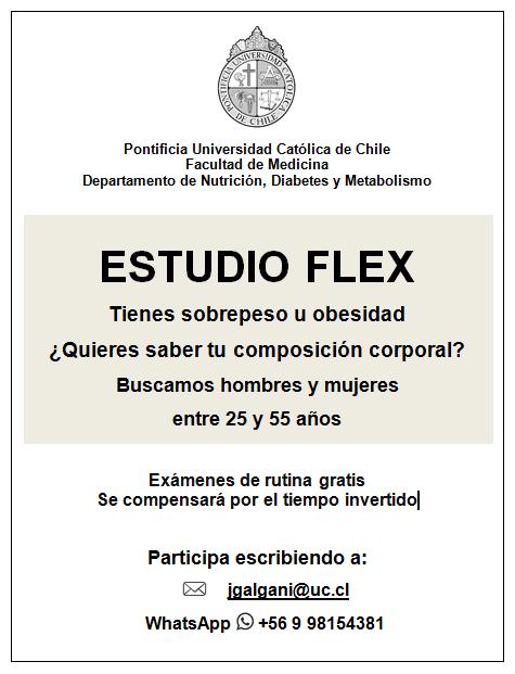 Estudio flex (investigación en nutrición)