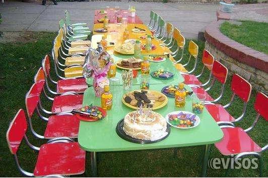 Fotos de Arriendo sillas y mesas para eventos de niños 961908923 4