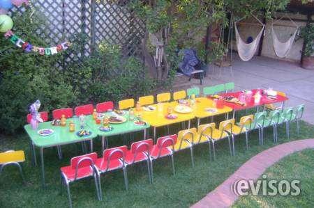 Fotos de Arriendo sillas y mesas para eventos de niños 961908923 3