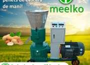 Peletizadora Meelko 120 mm electrica 4kw para concentrados balanceados 60-100 kg/h - MKFD1