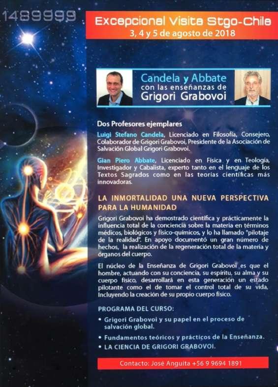 Conferencia primera vez en chile exponen italianos expertos