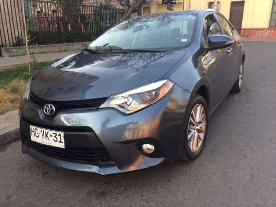 Toyota corolla año 2015 1.8 le cvt 7950000 precio economico