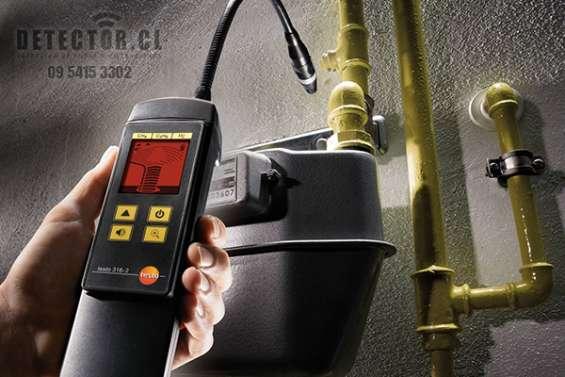 Detección de fugas de gas