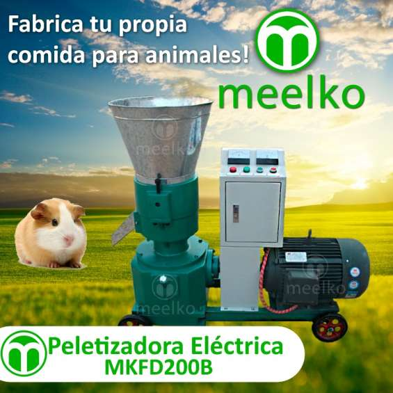 Peletizadora meelko 120 mm electrica 4kw