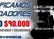 CALIFICACIONES DE SOLDADORES, PRUEBAS ND TODO CHILE