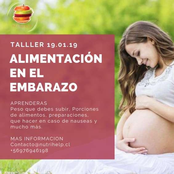 Taller alimentación embarazo