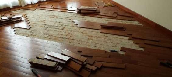 Instalacion pisos de madera rancagua