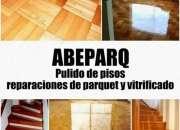 ABEPARQ Pulido de pisos, Reparacion de parquet y Vitrificado