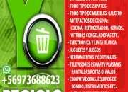 NECESITA RECICLAR COSAS EN BUEN ESTADO YO LE AYUDO  RETIRO GRATIS 973688623 SOLO LLAMADAS
