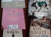 Vendo novelas nuevas/usadas (ver detalles en la descripción)