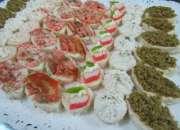 Banquetes celebraciones servicio de cocteleria canapes pastelitos delivery